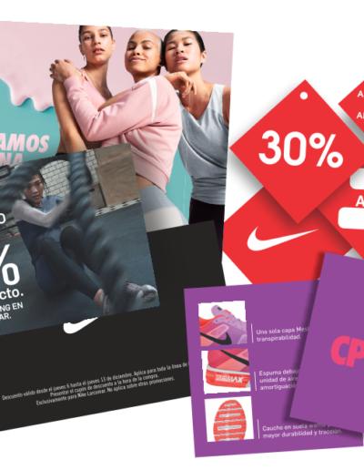 Etiquetas y Tags de Descuento Nike