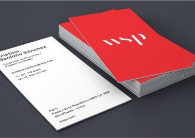 Tarjetas de Presentación WSP